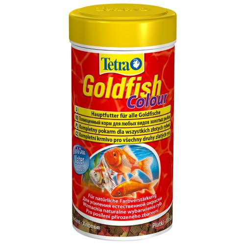 Сухой корм для рыб Tetra Goldfish Colour 250 мл 52 г сухой корм для рыб tetra goldfish energy 100 мл