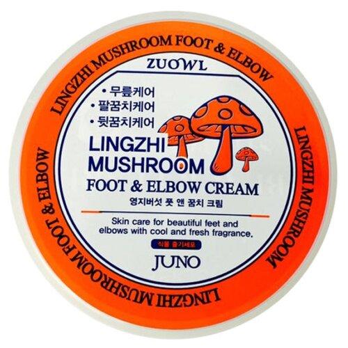 Juno Крем для ног и локтей Lingzhi mushroom 100 мл баночка крем для локтей