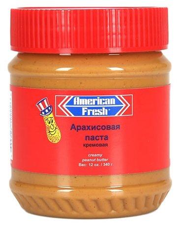 American Fresh Арахисовая паста кремовая
