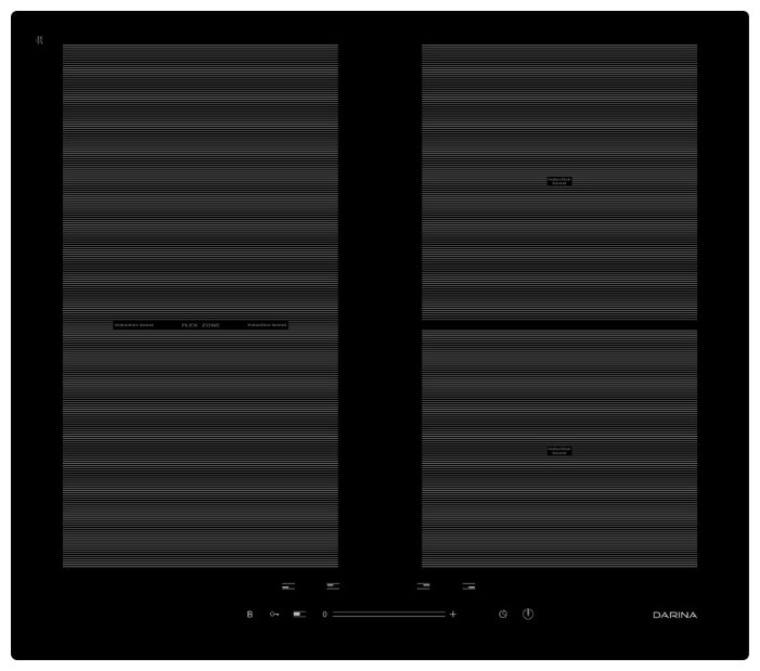 DARINA Варочная панель DARINA 5P9 EI304 B