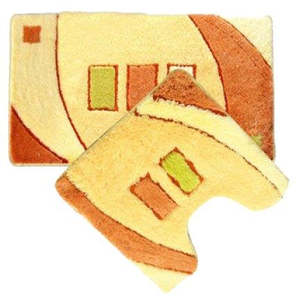 Комплект ковриков IDDIS MID090AS, 50х80 см, 50х50 см