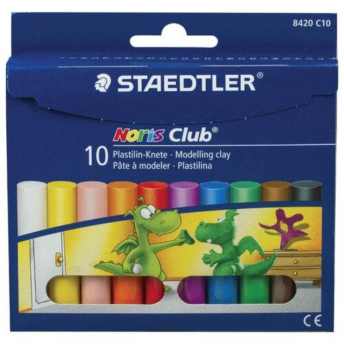 Купить Пластилин Staedtler Noris Club (8420 C10), Пластилин и масса для лепки