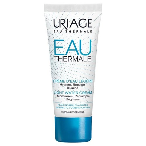 Uriage Eau Thermale Light Water Cream Крем увлажняющий для лица, 40 мл uriage eau thermale soin d eau contour des yeux увлажняющий крем для контура глаз 15 мл