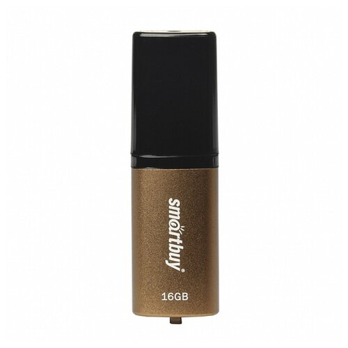 Фото - Флешка SmartBuy X-Cut USB 2.0 16GB коричневый флешка usb 16gb qumo cosmos usb2 0 хром qm16gud cos