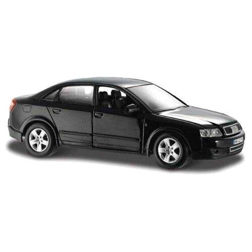 Купить Легковой автомобиль Maisto Ауди А4 (31990) 1:24 18 см черный, Машинки и техника