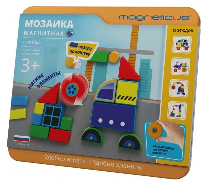 Magneticus Магнитная мозаика Стройка (МС-005)