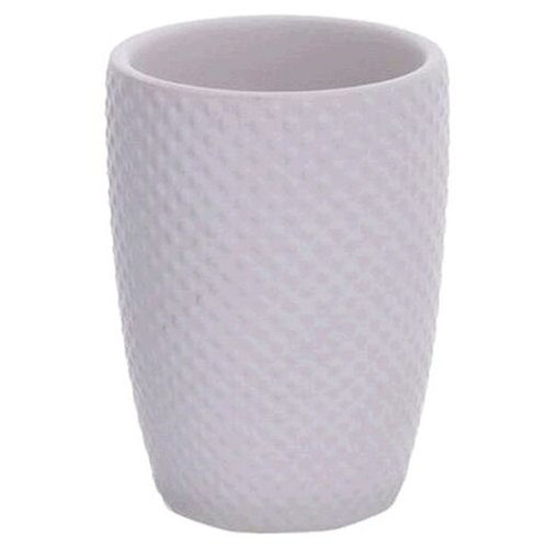 Стакан для зубных щеток D'casa Ostrich белый стакан