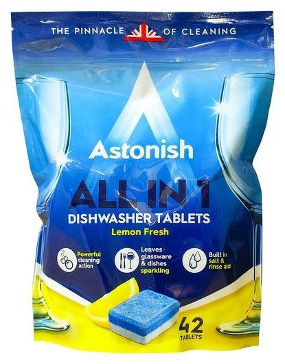 Astonish All in 1 таблетки (лимон) для посудомоечной машины