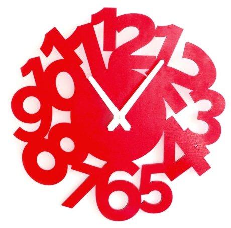 Часы настенные кварцевые Roomton Funk Red 01040