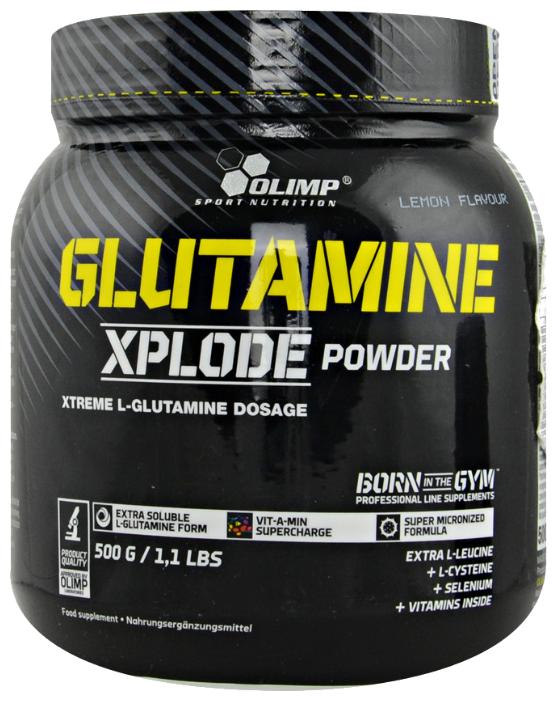 Л-Глютамин OLIMP Glutamine Xplode, 500 г (апельсин)