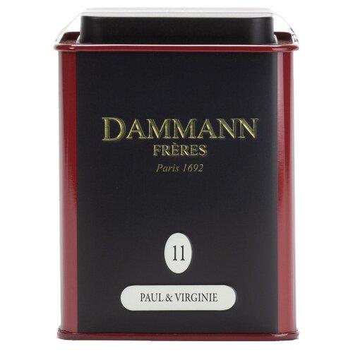 Чай черный Dammann Fr?res Paul & Virginie, 100 гЧай<br>