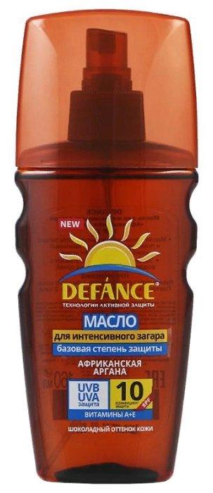 Defance Масло для интенсивного загара Африканская аргана SPF 10