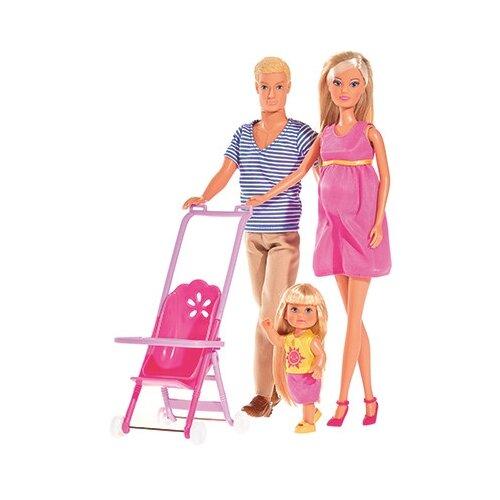 Набор кукол Steffi Love Семья Штеффи, 29 см, 5733200
