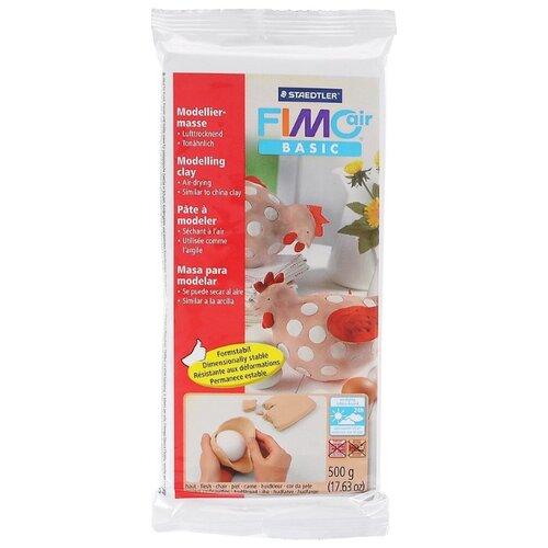 цена на Полимерная глина FIMO air Basic самоотвердевающая 500 г телесный (8100-43)