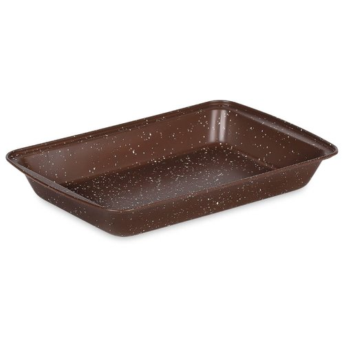 Форма стальная MOULINvilla BBWP-030 (30х20х4 см) коричневый