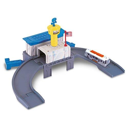 Autogrand Игровой набор Megapolis: Аэропорт 48245 серый/белый/голубой/желтый
