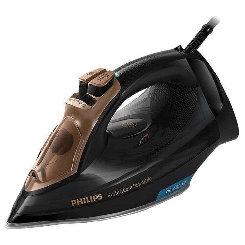 Утюг Philips GC3929/64 PerfectCare черный/коричневый