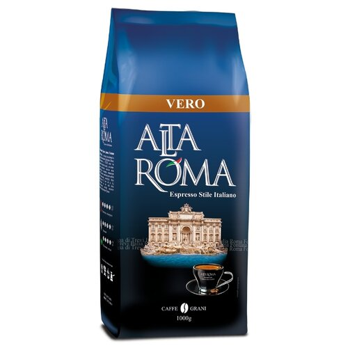 Кофе в зернах Alta Roma Vero, арабика/робуста, 1000 г