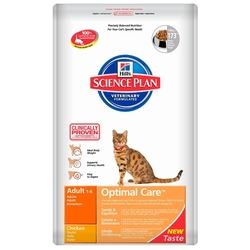 Корм для кошек Hill's Science Plan Feline Adult Optimal Care Chicken
