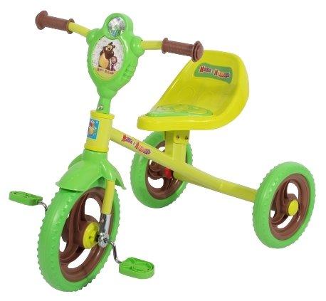 Трехколесный велосипед 1 TOY Т11703 Маша и Медведь