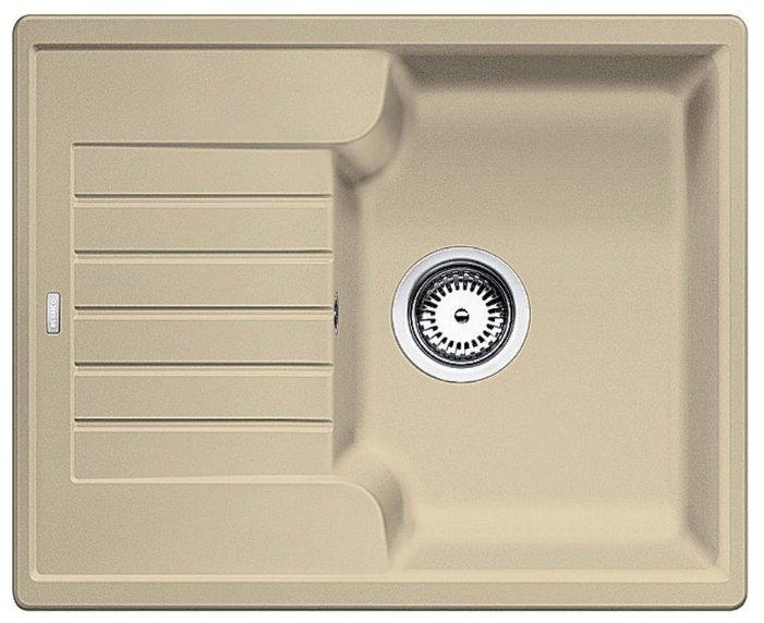 Врезная кухонная мойка Blanco Zia 40S Silgranit PuraDur 61.5х50см искусственный гранит