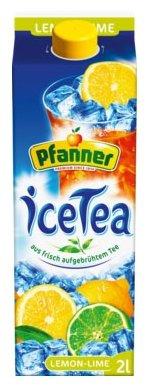 Чай Pfanner Лимон-Лайм с пониженным содержанием сахара, тетра-пак