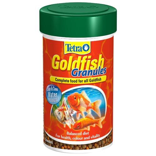 Сухой корм для рыб Tetra Goldfish Granules 100 мл сухой корм для рыб tetra goldfish 10000 мл