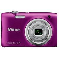 Компактный фотоаппарат Nikon Coolpix A100 фиолетовый