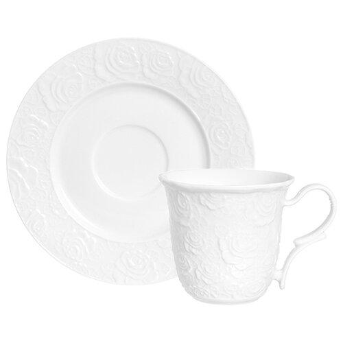 цена на Elan gallery Чайная пара Белые розы