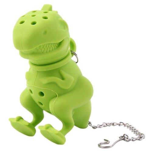 Ситечко для заварки FidgetGo Грозный Динозавр зеленыйАксессуары<br>