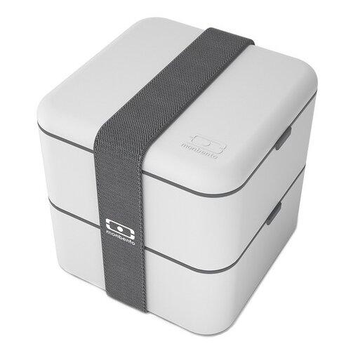 Фото - Monbento Ланч-бокс Square, 14x14 см, светло-серый monbento ланч бокс tresor 16x10 4 см горчичный