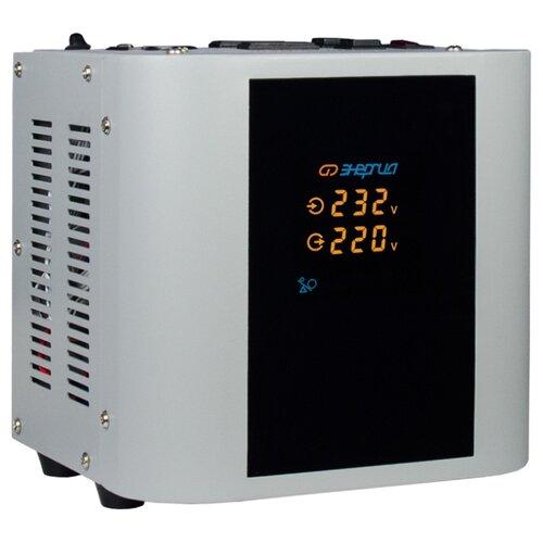 Фото - Стабилизатор напряжения однофазный Энергия Hybrid 1000 (0.7 кВт) стабилизатор напряжения однофазный энергия classic 7500 5 25 квт