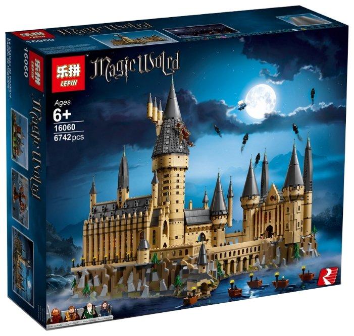 Конструктор Lepin Magic World 16060 Большой замок Хогвартс