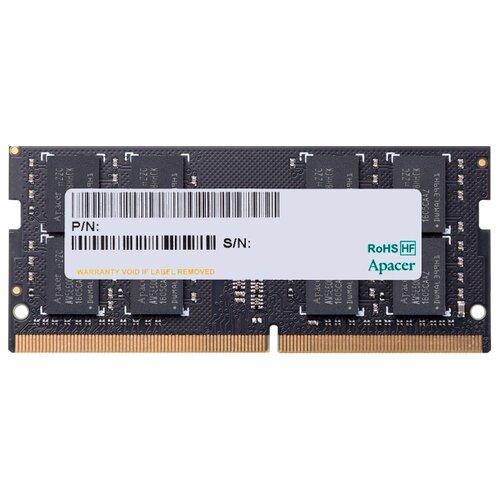 Купить Оперативная память Apacer DDR4 2666 (PC 21300) SODIMM 260 pin, 4 ГБ 1 шт. 1.2 В, CL 19, DDR4 2666 SO-DIMM 4Gb