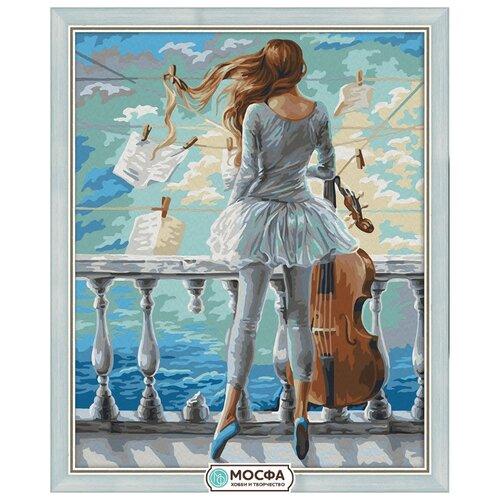 Мосфа Картина по номерам Муза 40х50 см (7С-0167)Картины по номерам и контурам<br>