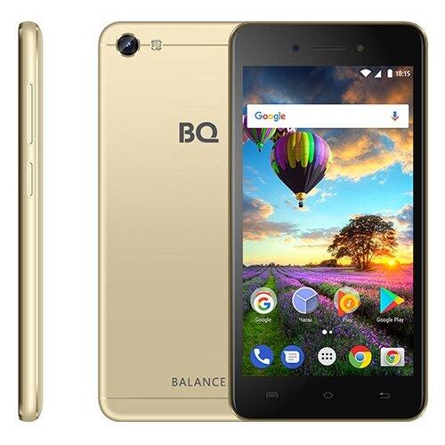 Смартфон BQ 5206L Balance золотой смартфон