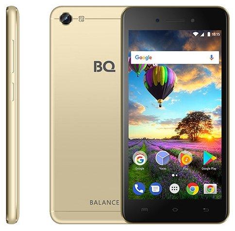 9f0dae7822585 Купить товар Смартфон BQ 5206L Balance золотой по низкой цене с ...