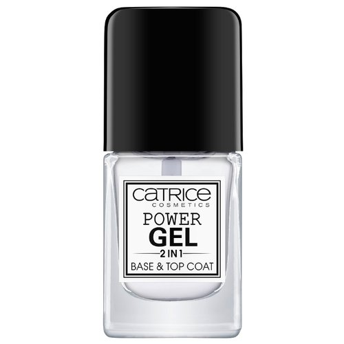 CATRICE базовое покрытие CATRICE Power Gel 2in1 Base & Top Coat 10.5 мл прозрачный ice nova базовое покрытие base coat 10 мл прозрачный