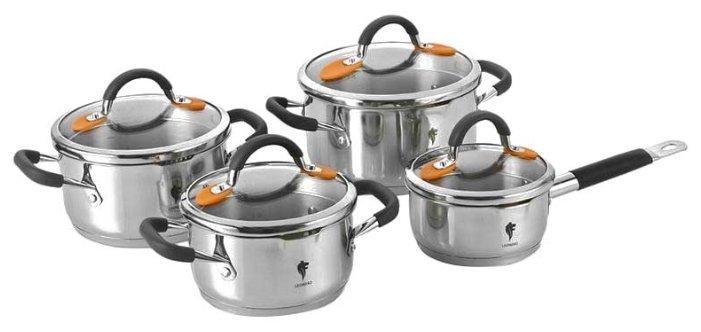 Набор посуды Leonord Optimal set-8/3 002185 8 пр.