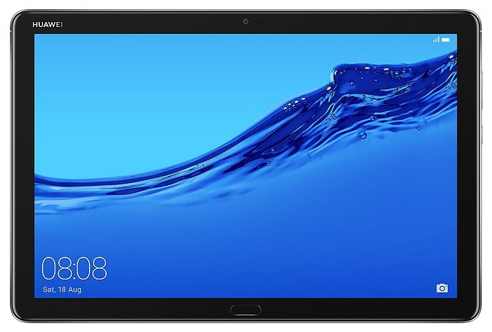 Планшет Huawei MediaPad M5 Lite 10 32Gb BAH2-W19 Space Gray 53010DKA (Kirin 659 2.4GHz/3072Mb/32Gb/Wi-Fi/Bluetooth/Cam/10.1/1920x1200/Android)
