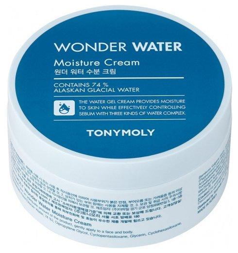 TONY MOLY Wonder Water Moisture Cream Крем гель для лица с ледниковой водой