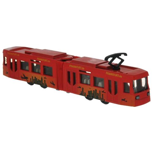 Купить Трамвай Siku 1615 1:55 19.7 см красный, Машинки и техника