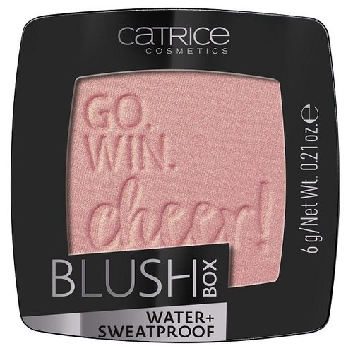CATRICE Blush Box румяна 020 Glistening Pink, чайная роза румяна revlon powder blush 020 цвет 020 ravishing rose variant hex name e1a4c1