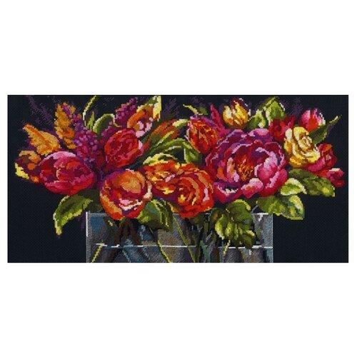 Купить Dimensions Набор для вышивания Flowers of Joy (Цветы радости) 45, 7 х 22, 8 см (70-35364), Наборы для вышивания