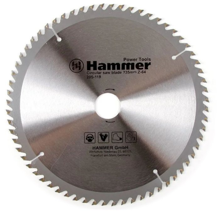 Пильный диск Hammer Flex 205-119 CSB WD 235х30 мм