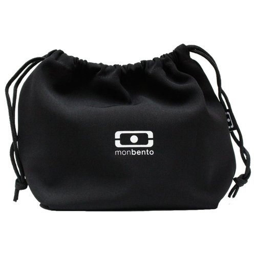Monbento Мешочек для ланча MB Pochette, 17x19 см, black недорого