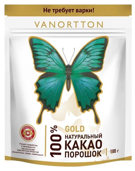 Какао-порошок натуральный Vanortton Gold, 100 г