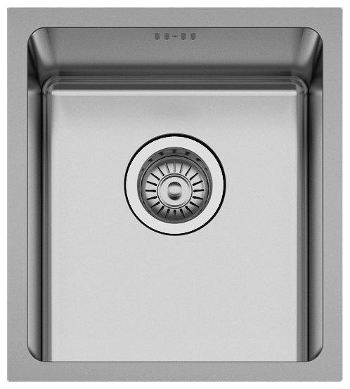 Врезная кухонная мойка Seaman ECO Roma SMR-3438A.A 34х38см нержавеющая сталь — купить по выгодной цене на Яндекс.Маркете