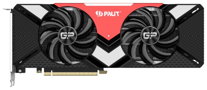 Palit Видеокарта Palit GeForce RTX 2080 1515MHz PCI-E 3.0 8192MB 14000MHz 256 bit HDMI HDCP GamingPro