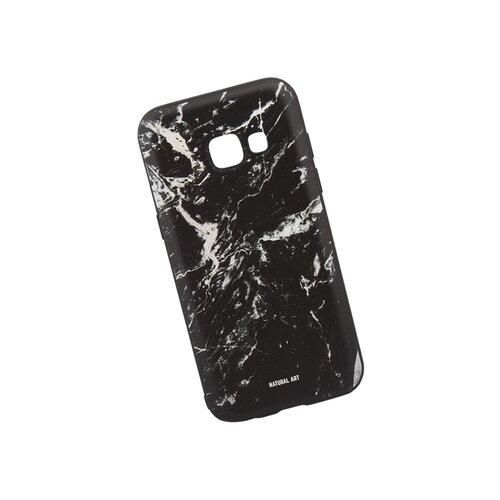 Чехол WK WK06 для Samsung Galaxy A3 (2017) черный мрамор
